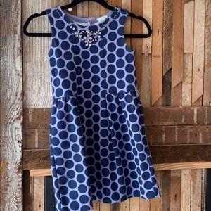 Girls CrewCut Polka Dot Dress